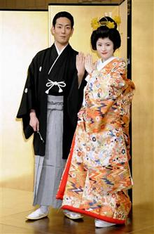 中村勘九郎さん(勘太郎さん&前田愛さん)の結婚式当日